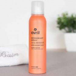 deodorant spray bio grenade sucree avril cosmetiques