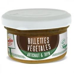 rillettes végétales artichaut