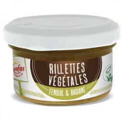 rillettes végétales fenouil badiane