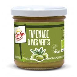 Tapenade vegan olives vertes senfas