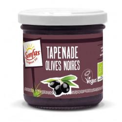 Tapenade vegan olives noires