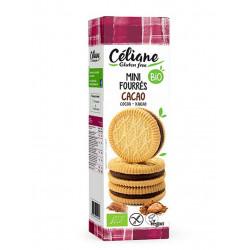 biscuits fourrés sans gluten cacao
