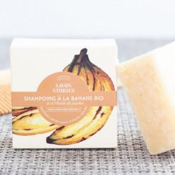 shampoing solide banane savon stories
