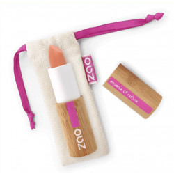 Rouge à Lèvres Bio Soft Touch pêche Zao Makeup