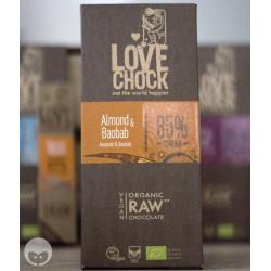 lovechock - chocolat vegan amande et baobab