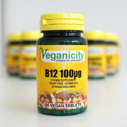 vitamine B12 vegan 100ug veganicity