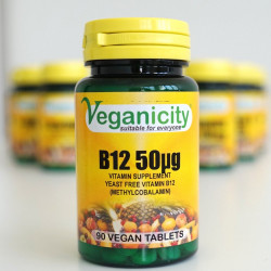 vitamine B12 vegan 50ug veganicity