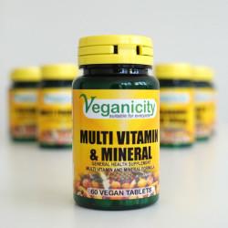 multivitamines et mineraux vegan veganicity