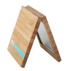 petit miroir en bambou double face zao makeup