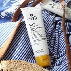 Avril crème solaire visage SPF 50