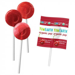 Yumearth lollipops fruits rouges