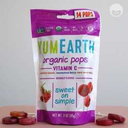 yumearth sucette fruits rouges