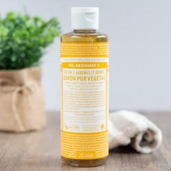 savon liquide agrumes 240mL - Dr Bonner