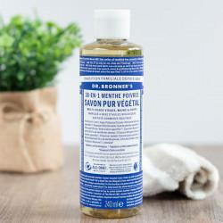 dr bronner savon liquide menthe poivrée 240ml