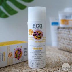 eco cosmetics crème solaire bébé spf 50+