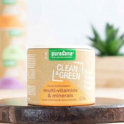 multivitamines clean & green purasana
