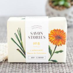 savon apaisant calendula savon stories