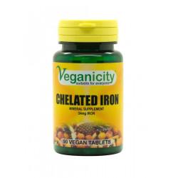 fer chélaté vegan