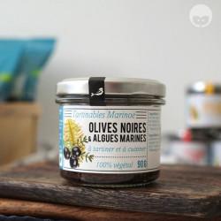Marinoë - tartinable aux olives noires et algues