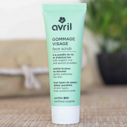 gommage visage bio avril cosmetiques
