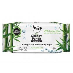 lingettes biodégradables the cheeky panda