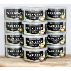 12 faux gras gaia