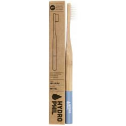brosse à dent bambou bleu clair hydrophil