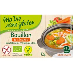 Bouillon de Légumes Sans Gluten Bio - MA VIE SANS GLUTEN