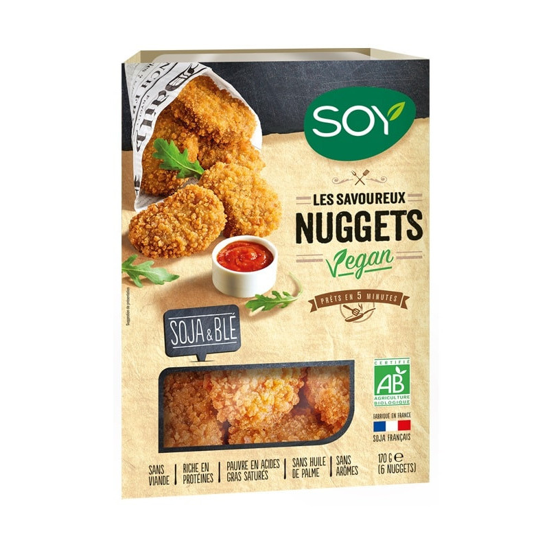 nuggets soy