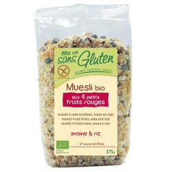 Muesli Sans Gluten Bio - Fruits rouges - MA VIE SANS GLUTEN