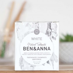 dentifrice ben et anna white