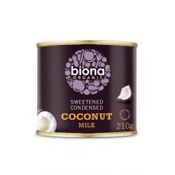lait coco concentre sucre bio biona