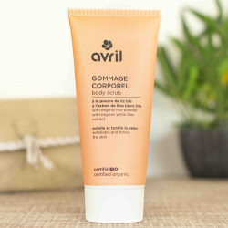 gommage corps bio avril cosmetiques