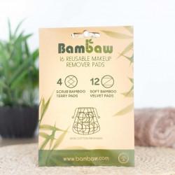 disques démaquillants réutilisables bambaw