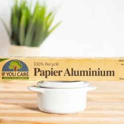 papier aluminium recyclé if you care