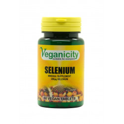 sélénium veganicity