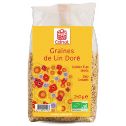 Graines de Lin Doré Bio - Celnat