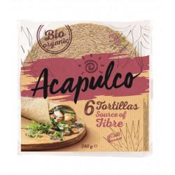 tortilla wrap bio acapulco son de ble
