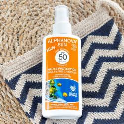 spray alphanova kids spf50