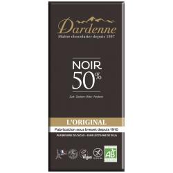Dardenne - Chocolat Noir vegan et bio 50% Cacao
