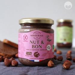 noiseraie production nut&bon - pâte à tartiner vegan