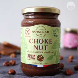 noiseraie productions choke nut - pâte à tartiner vegan