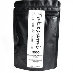 charbon bambou poudre takesumi 50g
