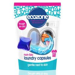 lessive capsule vegan ecozone x20