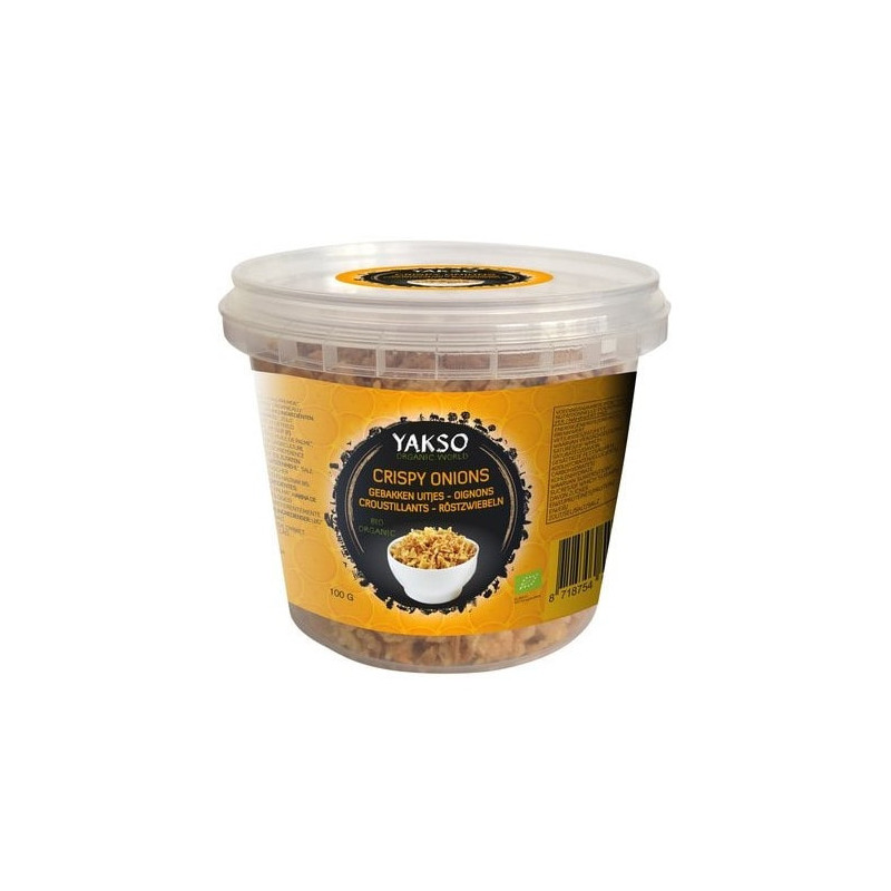 oignons frits bio