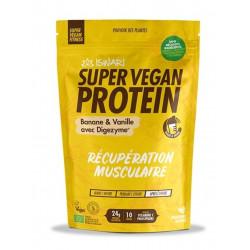 super vegan protein iswari banane vanille 350g