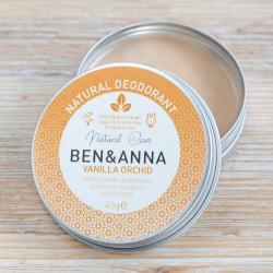 deodorant creme vanille ben et anna
