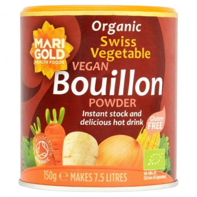 bouillon de légumes en poudre marigold 150g