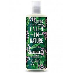 après shampoing faith in nature tea tree