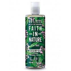 shampoing faith in nature tea tree